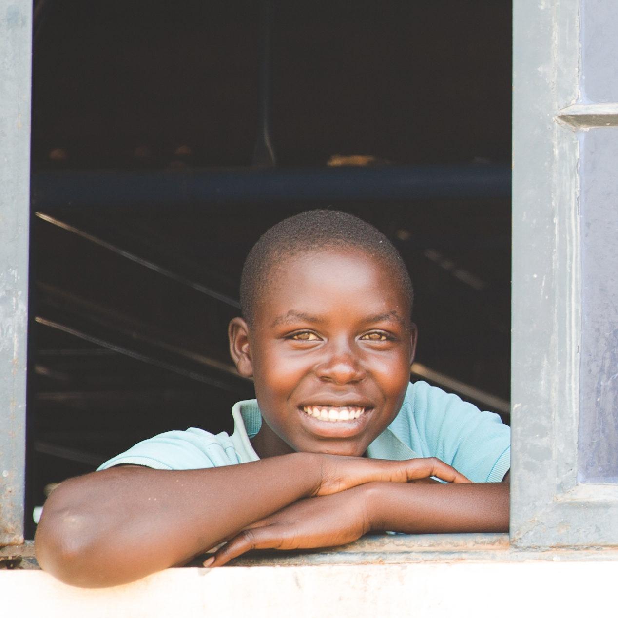 Uganda school children